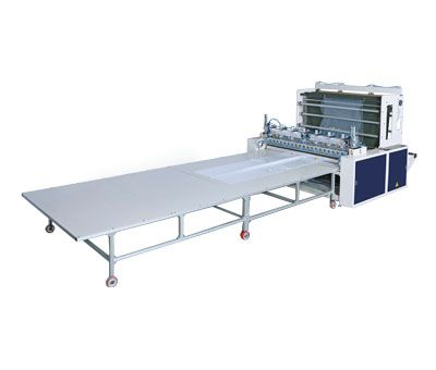 Fully Automatic Bottom Seal Industrial Bags Making Machine With Flying Knife Cutting System / SF-80