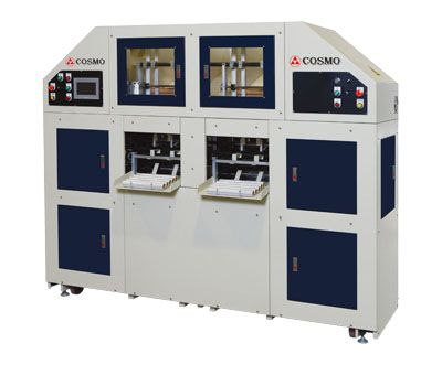 Fully Automatic High Speed 4 Spindles 2 Lines Stretch Film Re-Winder (Kitchen Type) / SWCR-350-L2