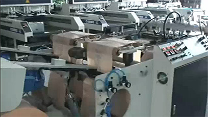 High Speed T-Shirt Bag Making Machine / CO-400-L2
